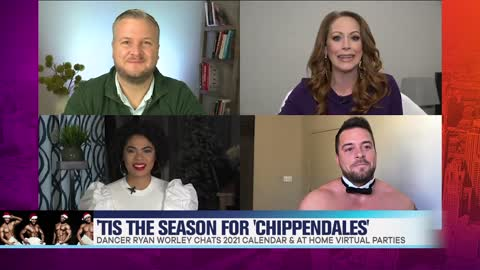 'Chippendales' Dancer Shares Details on 2021 Calendar & At Home Virtual Parties